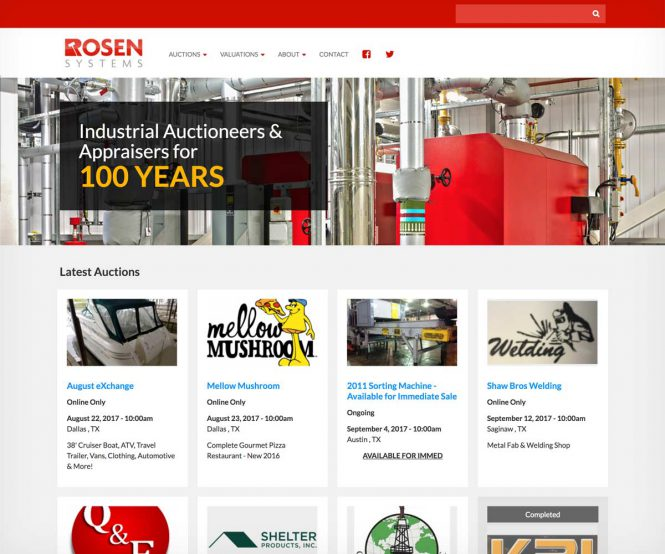 Rosen Systems homepage