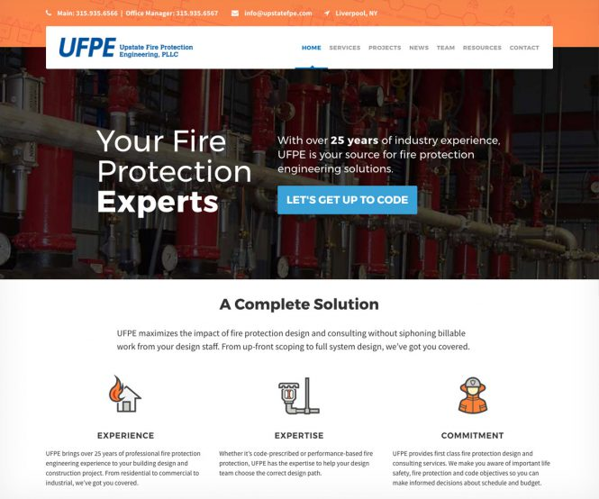 UFPE homepage
