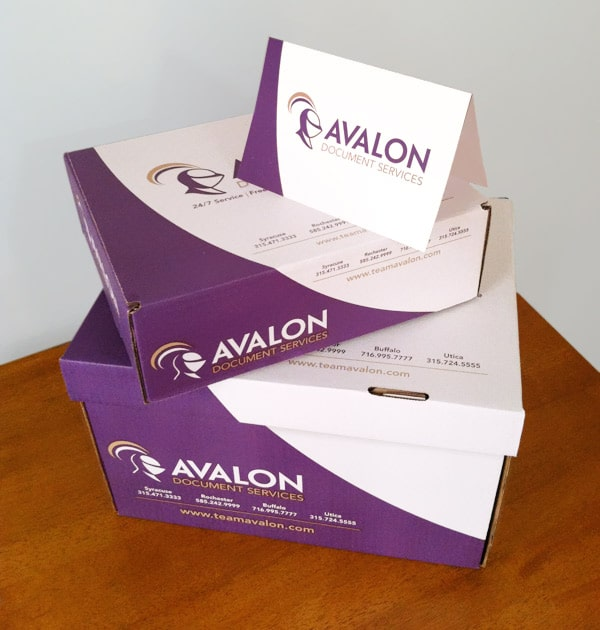 avalon boxes and stationery