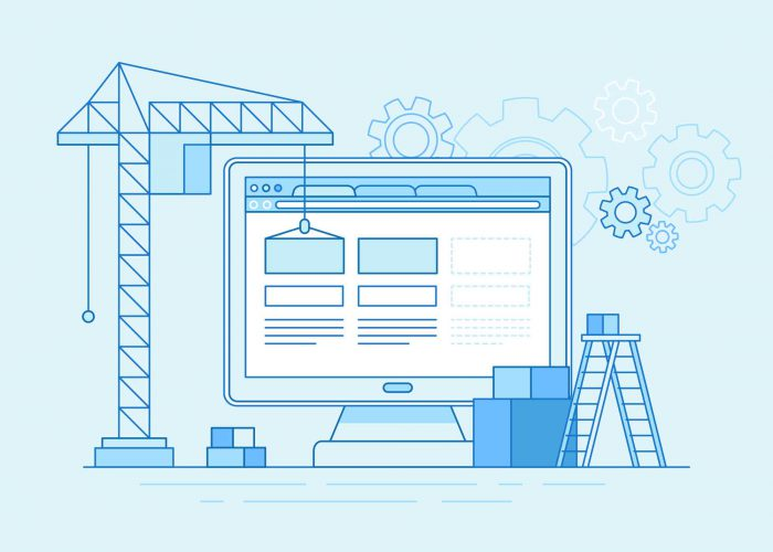 building website illustration