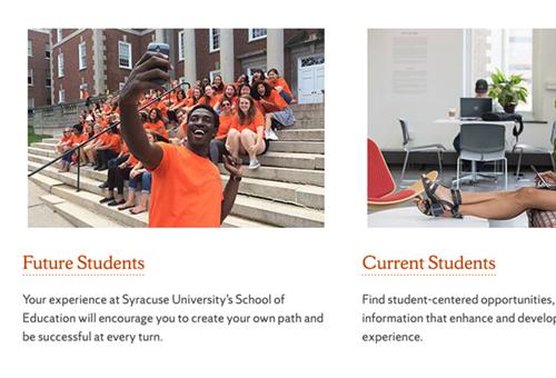 Syracuse SOE website